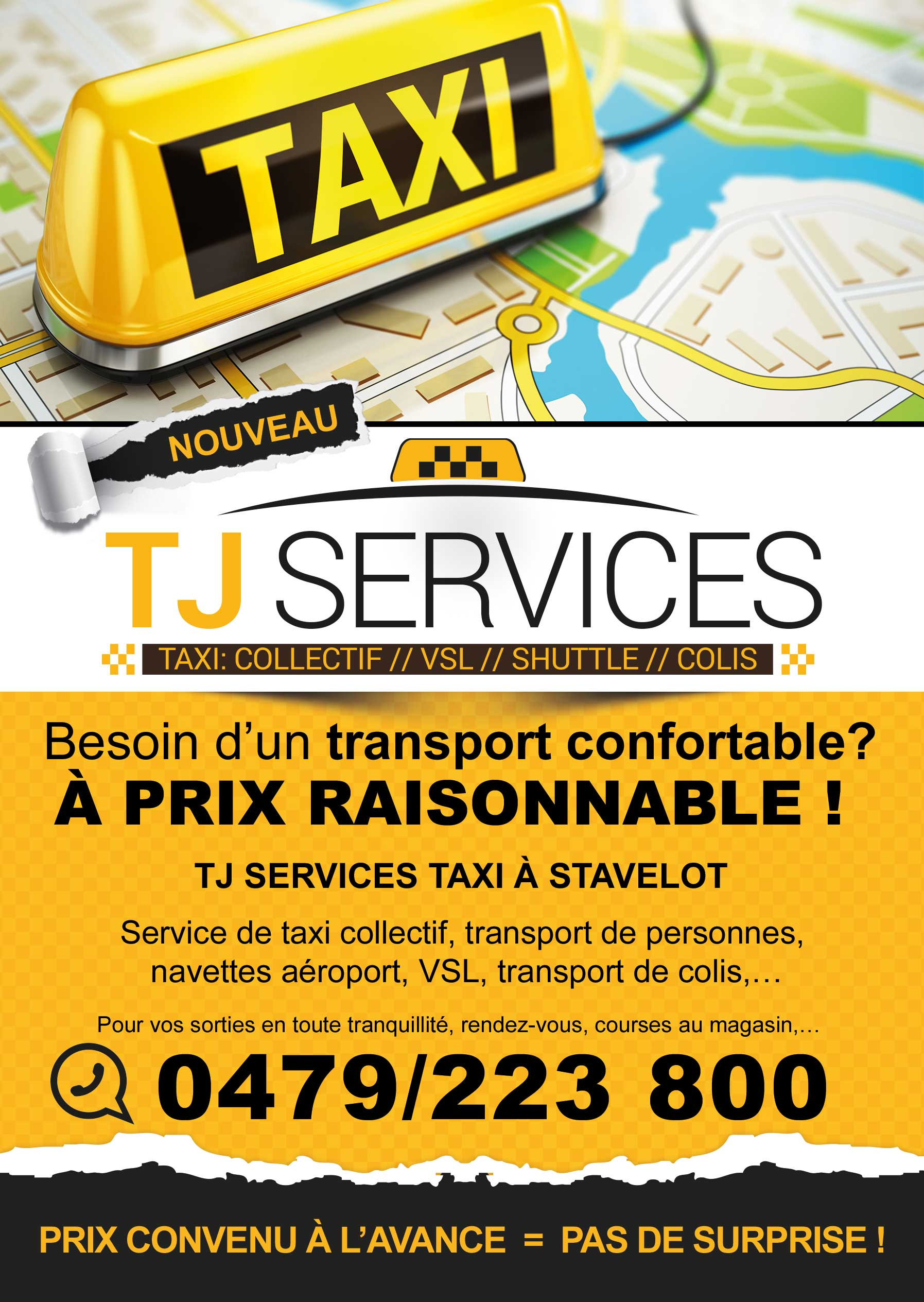 TJ Services - Flyer